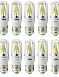 5W E27 LED-hehkulamput T 6 COB 500 lm Lämmin valkoinen Kylmä valkoinen V 10 kpl