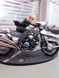 Las figuras de acción del anime Inspirado por Fate/Stay Night Saber Lily PVC CM Juegos de construcción muñeca de juguete