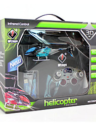 Helicóptero com CR 3 Canais 3 Eixos 2.4G -