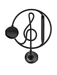 Beevo we300 auriculares bajos control de la función de micrófono con micrófono con alta fidelidad y auriculares