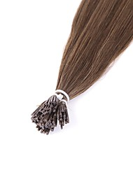 Neitsi 8A Grade 28'' 25g/lot 1g/s I Tip Hair Extensions 100% Straight Remy Human Hair 8#