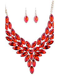 Europe And America Exaggeration Jewelry Set