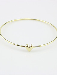 Women's Bangles Fashion Alloy Circle Jewelry For Party Special Occasion Gift 1 pcs