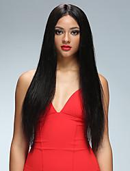 משיי ישר לא מעובד תחרה מלפנים שיער אדם פאות guelueless שיער אדם פאות עבור נשים שחורות ברזילאית בתולה שיער אדם מול תחרה משלוח חינם