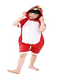 Kigurumi פיג'מות /סרבל תינוקותבגד גוף פסטיבל/חג הלבשת בעלי חיים Halloween אדום הדפס חיות כותנה תחפושות קוספליי ל יוניסקס נקבה זכר ילד
