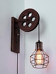 Vekselstrøm 100-240 60 E26/E27 Traditionel/klassisk Rustik/hytte Rustik Maleri Funktion for Ministil,Atmosfærelys Væg Lamper Væglys