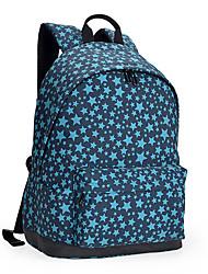 13-palcový lehký nylon pu kožený cestovní batoh batoh školní taška laptop batoh deník pro školní práci turistika