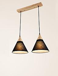 Vedhæng Lys ,  Moderne / Nutidig Maleri Funktion for LED Træ/bambus Stue Soveværelse Spisestue Køkken Læseværelse/Kontor