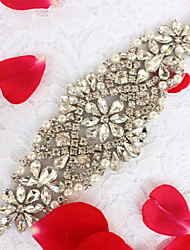 Liga Casamento Festa/Noite Dia a Dia Faixa-Miçangas Pedraria Miçangas Pedraria