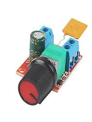 Dc מנוע מהירות בקרת הנהג לוח 3v-35v 5a pwm בקר stepless מתח הרגולטור דימר מושל מיתוג לבנות עם מחוון LED ו מתג
