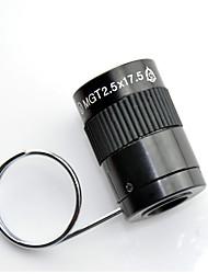 2.5X17.5 mm Monocular Genérico Case de Transporte Roof Prism Porro Prism Alta Definição Ângulo Largo Âmbito de Visão De Mão DobrávelUso