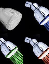 עכשווי מקלחת גשם כרום מאפיין for  LED גשם ידידותי לסביבה , ראש המקלחת