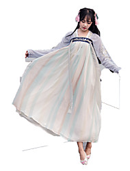 Outfits Wa Lolita Vintage Inspired Cosplay Lolita Dress Vintage Long Sleeve Ankle-length For