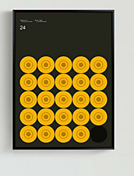 אבסטרקט אמנות ממוסגרת תלת מימדית וול ארט,עץ חוֹמֶר שחור אין משטח עם מסגרת For קישוט הבית אמנות מסגרת