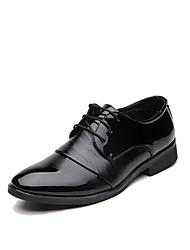 Homme Bottes Chaussures formelles Microfibre Printemps Eté Automne Hiver Mariage Bureau & Travail Soirée & Evénement MarcheBottes à la
