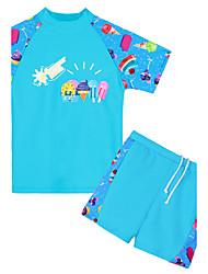 Unisex Cartoon Cartoon Swimwear,Polyester Nylon