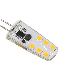 3W G4 Żarówki LED bi-pin T 12 SMD 2835 210-230 lm Ciepła biel Zimna biel Dekoracyjna V 1 sztuka