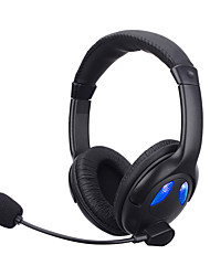 Soyto sy760mv lysende hovedtelefoner stereo gaming hovedtelefon kablet headset auriculares foldebare øretelefoner audifonoer med mikrofon