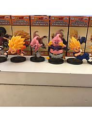 애니메이션 액션 피규어 에서 영감을 받다 드레곤볼 Goku PVC 8 CM 모델 완구 인형 장난감