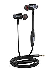langsdom eh360 3.5mm普遍的なヘッドフォンステレオイヤプラグヘッドセットとマイクロフォンサムスンキビhuawei iphone電話用