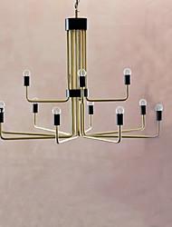 Závěsná světla ,  Venkovský styl Retro Obraz vlastnost for návrháři Kov Jídelna Chodba Více než 10 Žárovky