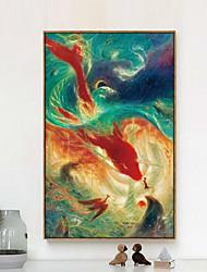 Hayvanlı 3D umění v rámu Wall Art,Dřevo Materiál Hnědá Bez pasparty s rámem For Home dekorace rám Art