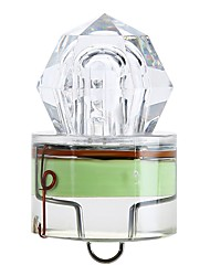 Green Diamond LED Fishing Lights Deep Drop Swordfish Squid Bait Strobe Outdoor Fishing