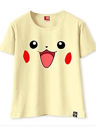 Inspirovaný Pocket Little Monster PIKA PIKA Video Hra Cosplay kostýmy Cosplay T-shirt Jedna barva Tričko