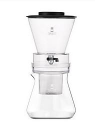 600ml de vaso de café com gotejamento a frio doméstico