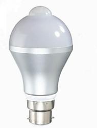 5W B22 E26/E27 LED-älyvalot G60 10 SMD 5630 480 lm Lämmin valkoinen Kylmä valkoinen Sensori Koristeltu V 1 kpl