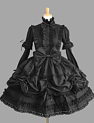Women's Lolita Dress Cosplay Girl Dress Classic/Traditional Lolita Sexy Cosplay Lolita Dress Fashion  Vintage Cap Short Sleeve Short / MiniTuxedo