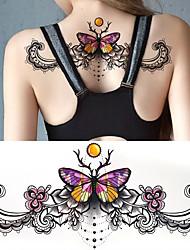 Tatuagens Adesivas Outros não tóxica Á Prova d'águaFeminino Tatuagem Adesiva Tatuagens temporárias
