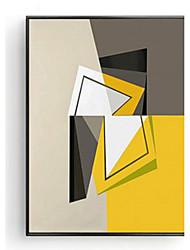 Abstraktní 3D umění v rámu Wall Art,Dřevo Materiál Černá Bez pasparty s rámem For Home dekorace rám Art