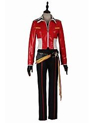 Inspirovaný Cosplay Cosplay Video Hra Cosplay kostýmy Cosplay šaty Módní Dlouhý rukáv Tričko Vrchní deska Kalhoty Rukavice Pásek