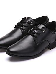 Men's Boots Comfort Light Soles PU Spring Summer Fall Winter Outdoor Office & Career Party & Evening Walking Fashion Boots Rivet Flat Heel