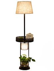60 Rustykalny/Retro Ekstrawagancki Lampa podłogowa , Cecha na LED , z Lakierowane Posługiwać się Przełącznik włącz/ wyłącz Przełącznik