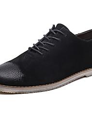 גברים נעלי ספורט נוחות גלדיאטור קנבס אביב קיץ סתיו חורף שטח יומיומי ספורט הליכה עקב שטוח שחור אפור חום שטוח