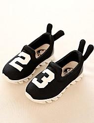 בנים נעליים ללא שרוכים סוליות מוארות טול קיץ סתיו קזו'אל הליכה סוליות מוארות מפרק מפוצל עקב שטוח שחור אדום ירוק מתחת ל 2.54 ס