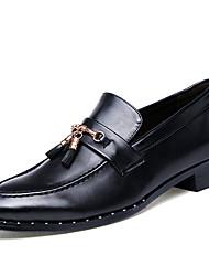 Homme Oxfords Chaussures formelles Similicuir Printemps Eté Automne Hiver Mariage Décontracté Soirée & Evénement Marche Gland Talon Plat