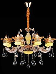 Lámparas Colgantes ,  Tradicional/Clásico Galvanizado Característica for Cristal Mini Estilo MetalSala de estar Dormitorio Comedor
