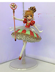Anime Action Figures Inspired by Cardcaptor Sakura Sakura Kinomodo PVC 25 CM Model Toys Doll Toy 1pc