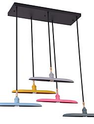 Lámparas Colgantes ,  Moderno / Contemporáneo Pintura Característica for LED Mini Estilo Los diseñadores MetalSala de estar Dormitorio