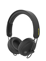 Awei a800bl touch headset bluetooth headset trådløst headset støjreduktion med mikrofon 3d surround stereo