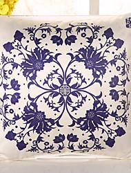 1 ks Hedvábí Polštářový potah Povlak na polštář,Květinový Novinka Neformální retro tradiční klasika Euro