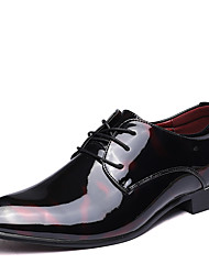 Men's Boots Formal Shoes Bullock shoes Leather Spring Summer Fall Winter Wedding Office & Career Party & Evening Walking Fashion Boots