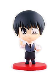 애니메이션 액션 피규어 에서 영감을 받다 도쿄 구울 켄 Kaneki 8 CM 모델 완구 인형 장난감
