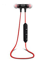 Cirkel s5 magnet bluetooth øretelefon trådløs bluetooth headset sport kører stereo super bas ørepropper med mikrofon til mobiltelefon