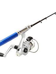 Slitina hliníku Prut na rybaření v ledu Sklolaminát 100 M Rybaření v ledu Rybářské pruty + Role za ribolov-