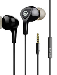 EP01 In-Ear Metal Bass Earphone High-Fidelity Monitor Ear Plug With Wire-Controlled Tuning Function