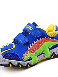 בנים נעלי ספורט יום יומי נוחות טול קיץ סתיו קזו'אל ספורט יום יומי נוחות הדפס חיות עקב שטוח כחול כהה כחול ים שטוח